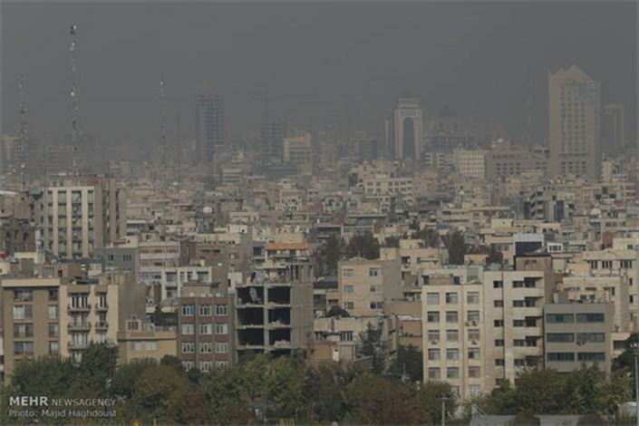 هوای تهران باز هم برای افراد حساس ناسالم شد