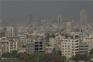 هوای تهران برای گروههای حساس ناسالم است/ هوا فردا هم آلوده است