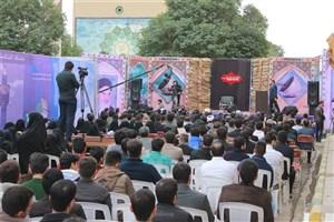 برگزاری هفتمین سالروز تدفین شهدای گمنام واحد اهواز دانشگاه آزاد اسلامی
