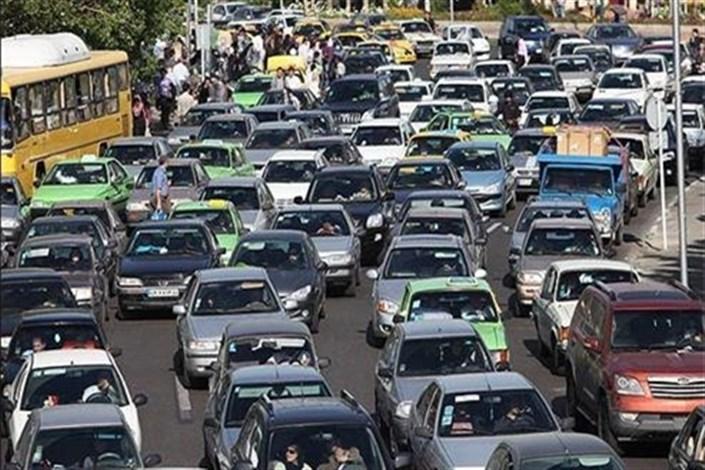 پیشبینی افزایش حجم ترافیک پایتخت در روزهای پایانی هفته