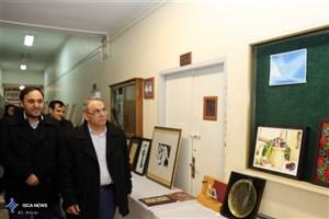 نمایشگاه «سیاست، هنر و پژوهش» در دانشگاه محقق اردبیلی آغازبکار کرد