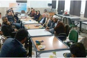نشست هم اندیشی آسیب های اجتماعی و نقش دانشگاهیان در واحد ارسنجان برگزار شد