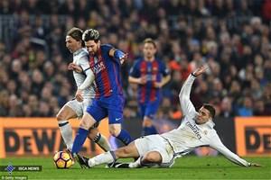 کاپیتان رئال مادرید مسی را متهم کرد