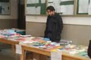 برپایی نمایشگاه کتاب در دانشگاه آزاد اسلامی واحد اشکذر