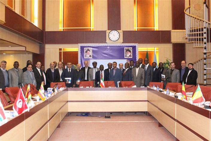 دیدار سفرای کشورهای آفریقایی در تهران با جمعی از مدیران وزارت علوم