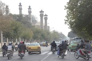 صبح ناسالم در هوای بارانی تهران