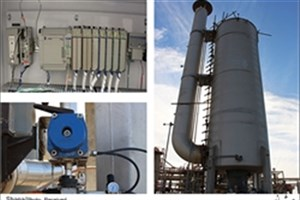 دستگاه کنترل دمای کوره گاز مخزن ذخیره سازی شوریجه ساخته شد