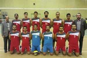 مسابقات والیبال دانشجویان پسر دانشگاه های آزاد اسلامی استان اصفهان به میزبانی واحد مبارکه