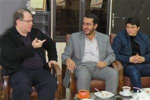 دیدار مسئولین بسیج دانشجویی شبستر از فعالیت های واحد صوفیان