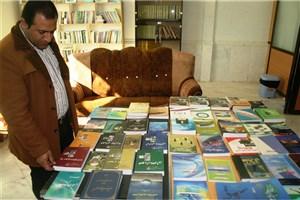 برگزاری نمایشگاه کتاب و مسابقه کتابخوانی به مناسبت هفته پژوهش در واحد نی ریز