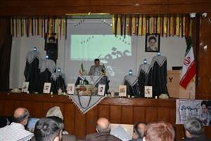 مراسم بزرگداشت شهدای مدافع حرم در دانشگاه آزاد اسلامی مشهد برگزار شد
