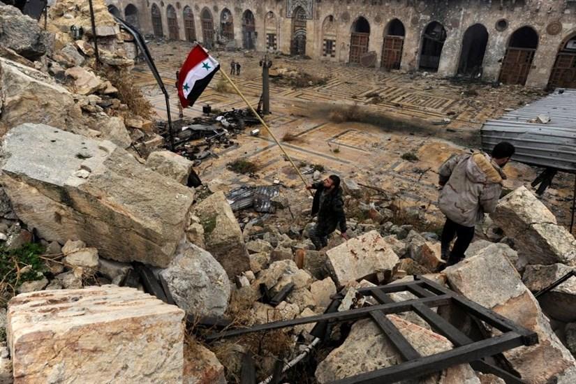 حلب تحت کنترل دولت