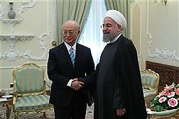 دیدار مدیرکل آژانس بین المللی انرژی اتمی با رییس جمهوری