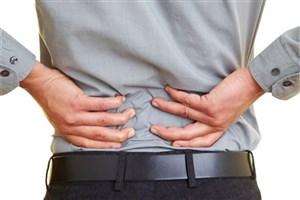 کمردرد و آرتروز شایع ترین اختلال اسکلتی و عضلانی