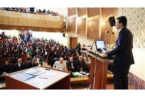 سخنرانی پدرام سلطانی در دانشگاه الزهرا (س)/لزوم سرمایهگذاری بخشخصوصی در زیربنای فرهنگی و اجتماعی