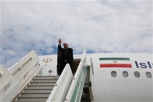 ورود رییس جمهور به مشهد مقدس