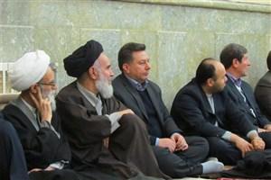 حضور دانشگاهیان واحد بناب در مراسم وحدت حوزه و دانشگاه