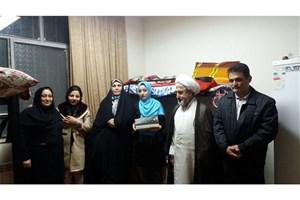 حضور سرپرست واحد گرمسار به مناسبت شب یلدا در جمع دانشجویان