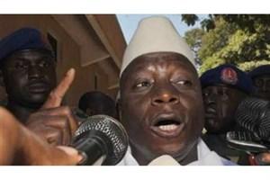 رئیسجمهور گامبیا از تحویل قدرت خودداری کرد