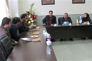 جلسه شورای آموزشی و پژوهشی واحد دزفول با حضور ریاست این دانشکده برگزار شد