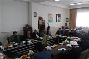 جلسه هماهنگی همایش علمی اقتصاد مقاومتی در واحد اسکو برگزار شد