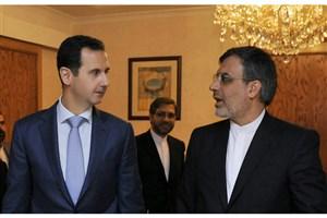 گفتگوی«بشار اسد» و «جابری انصاری» پیرامون کمیته قانون اساسی سوریه