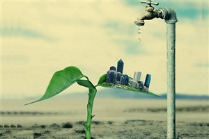 بحران در منابع آبی و خاک ایران