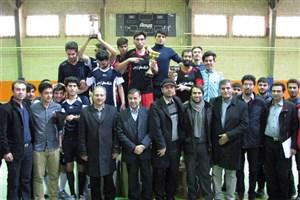 هجدهمین جشنواره مسابقات درون دانشگاهی دانشجویان پسر دانشگاه محقق اردبیلی برگزار شد