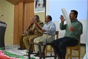 مراسم مولودی خوانی و تجلیل از پژوهشگران برتر واحد بوکان برگزار شد