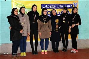 مسابقات استانی بدمینتون دانشجویان دانشگاه آزاد اسلامی به میزبانی سمنان /شاهرودیها قهرمان شدند