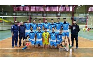 واحد بابل نایب قهرمانی مسابقات والیبال پسران دانشگاه آزاد اسلامی مازندران شد