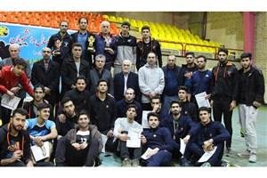 واحد تنکابن، قهرمان مسابقات والیبال دانشجویان دانشگاه آزاد اسلامی استان مازندران شد