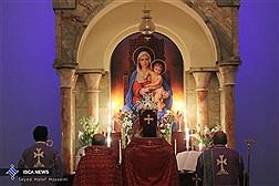 مراسم سال نو ارامنه در کلیسای سرکیس مقدس