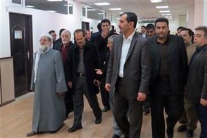 مرکز رشد واحدهای فناور و کارآفرین دانشگاه آزاد اسلامی واحد مریوان افتتاح شد