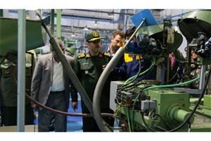 افتتاح خط تولید مهمات کالیبر کوچک با حضور وزیر دفاع