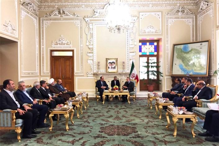 نوری المالکی علی لاریجانی