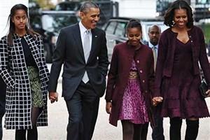 برگزاری مهمانی خداحافظی اوباما در کاخ سفید