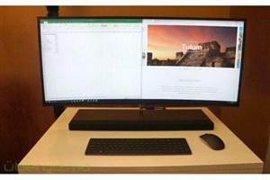 کامپیوتر جدید HP با نمایشگر ۳۴ اینچی خمیده معرفی شد