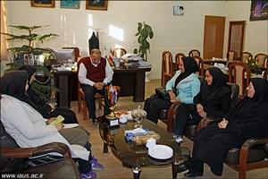 قهرمانی تیم بدمینتون دانشگاه آزاد اسلامی سبزوار در مسابقات استان