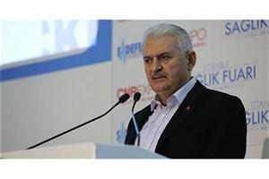ییلدیریم: نمی گذاریم اعضای حزب مردم جمهوریخواه درکنار پ.ک.ک در میان ملت ترکیه تنش ایجاد کنند
