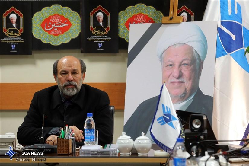 هیات رئیسه دانشگاه آزاد اسلامی در کمال اندوه و ماتم با حضور دکتر میرزاده