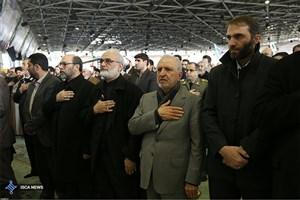 حضور دکتر میرزاده و مسئولان دانشگاه آزاد اسلامی در مراسم تشییع پیکر آیت الله هاشمی رفسنجانی