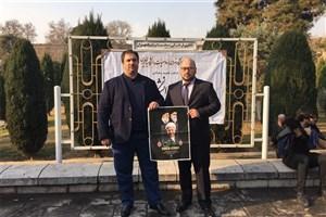 حضور نماینده دانشگاه سینرجی روسیه در مراسم تشیع پیکر آیت الله هاشمی رفسنجانی
