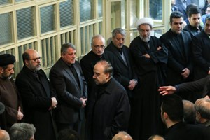 حضور وزیر ورزش و جوانان در مراسم تشییع پیکر آیت الله هاشمی رفسنجانی