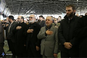 IAU President & Officials Attend Ayatollah Rafsanjani's Funeral Ceremony