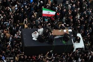 پوشش امدادی مراسم خاکسپاری حضرت آیت اله هاشمی رفسنجانی