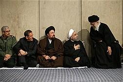 مراسم ترحیم آیت الله هاشمی رفسنجانی در حسینیه امام خمینی(ره)