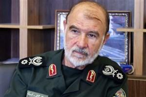 سردار اسدی در مراسم سالگرد شهید احمد کاظمی: جبهه دفاع از اسلام به آن سوی مدیترانه رسیده است