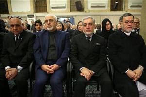 حضور عبدالله عبدالله در مراسم بزرگداشت آیت الله هاشمی رفسنجانی