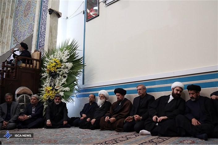 مراسم ختم آیت الله هاشمی در مسجد پیامبر اعظم واحد علوم و تحقیقات -2